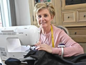 """Sofie maakt als kleermaakster van de Roeselaarse reuzen de outfit voor Reus Jempi: """"Reus steekt z'n armen triomferend in de lucht, dat maakt het er niet makkelijker op voor mij"""""""