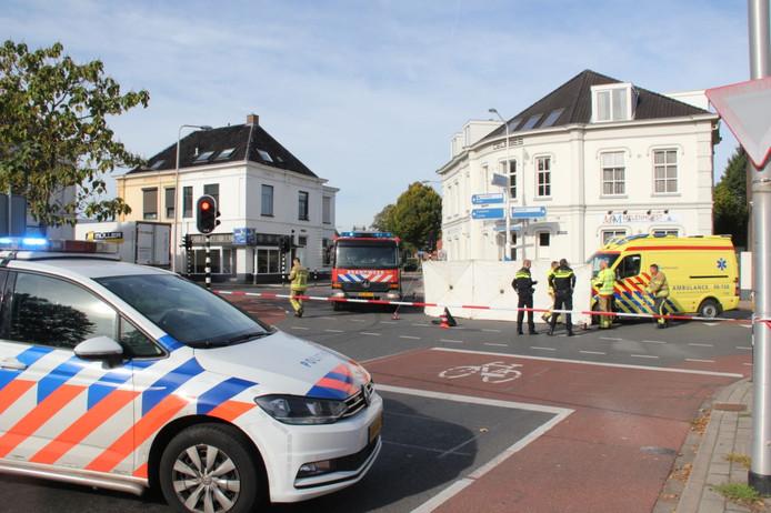 Lochem: ongeval met letsel op de kruising Zutphenseweg/Albert Hahnweg