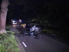Ravage en gewonden in IJhorst na eenzijdig ongeval in nachtelijke uren
