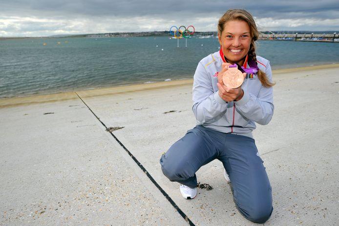 Op de Spelen van 2012 in Londen pakte Van Acker brons.