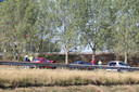Bij de botsing waren drie personenauto's betrokken.