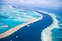 Vue de la Grande Barrière de Corail.