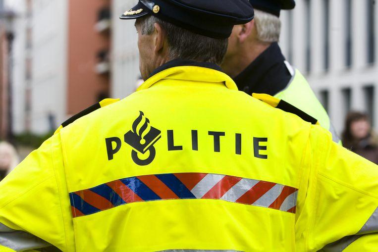 De politie hield de Beverwijker aan na een wilde achtervolging Beeld anp
