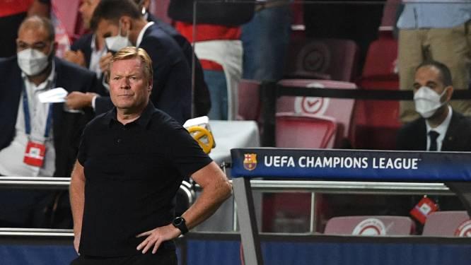 Koeman weet hoe laat het is voor Barça: 'We moeten winnen van Dinamo Kiev'