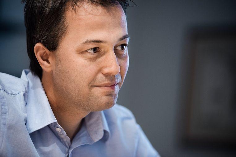 Egbert Lachaert (Open Vld). Beeld Eric de Mildt