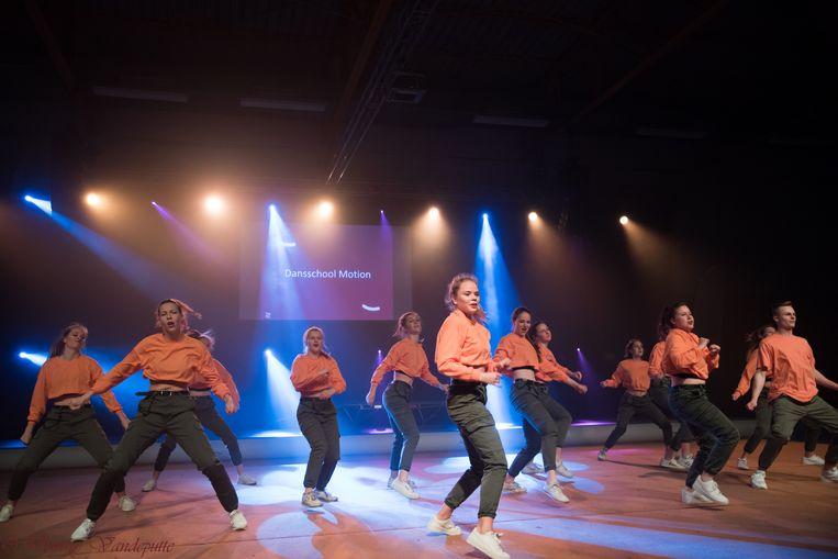 Motion mocht ook het beste van zichzelf geven tijdens het gala.