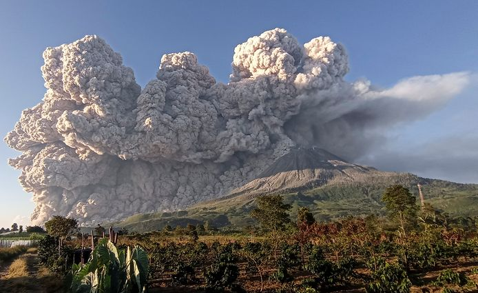 Le volcan Sinabung