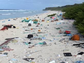 Op een onbewoond eiland: 38 miljoen stukken plastic
