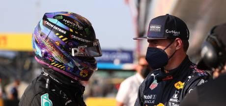 Lewis Hamilton neemt contact op met Max Verstappen