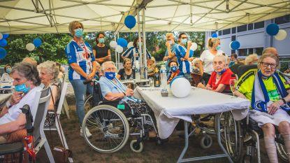 Enige 'Buffalo-rusthuis' krijgt bezoek van Gent-spelers en Jess Thorup