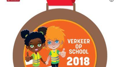 Bronzen Verkeer op School-medaille voor Vrije Centrumschool Roeselare