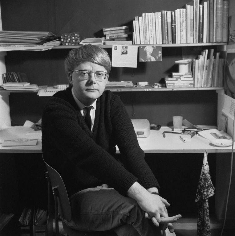 Louis Andriessen in 1966. Beeld Hollandse Hoogte / Maria Austria Instituut