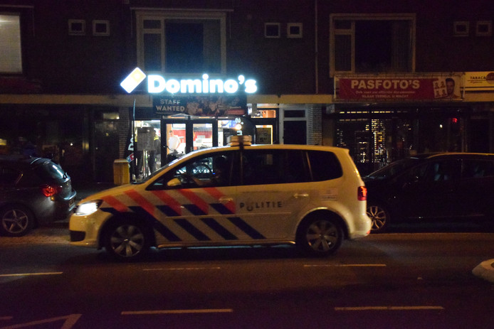 Overval bij Domino's Waddinxveen.