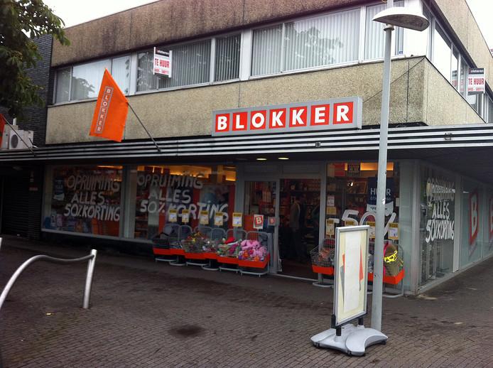 Het oude Blokkerpand in Aalst.