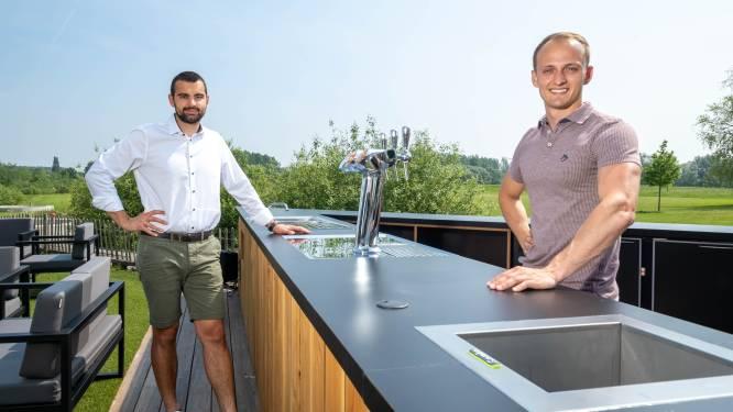 """BrooX bouwt zomerbar: """"Willen nog meer wandelaars en fietsers bereiken met takeaway"""""""