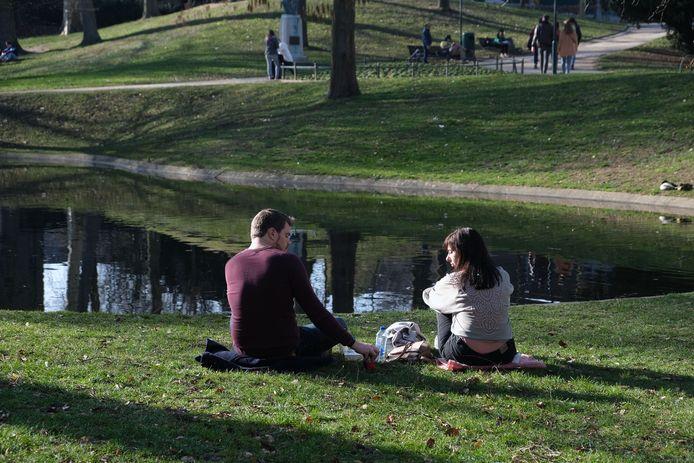 Het stadspark van Leuven