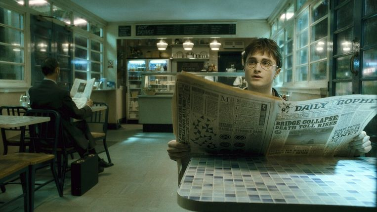 Daniel Radcliffe in Harry Potter and the Half-Blood Prince van David Yates. Beeld