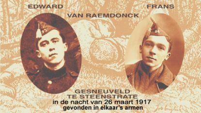 Herdenking gebroeders Van Raemdonck in Steenstrate: delegaties uit Temse en Sint-Niklaas zondag naar Westhoek