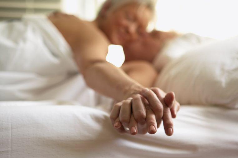 Koppel in bed Beeld Getty Images