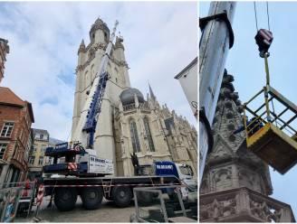 """Experts controleren gevels Sint-Martinusbasiliek na vallende brokstukken: """"Loszittende stukken meteen verwijderd"""""""