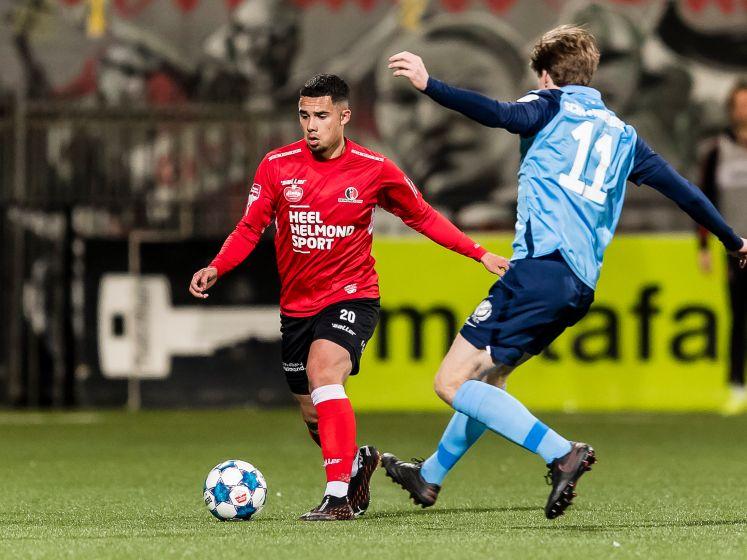 Roeffen moet na profdebuut voor Helmond Sport terug naar VVV