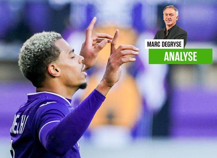 Degryse vindt dat doelpuntenmaker Nmecha nog meer kan laten zien.