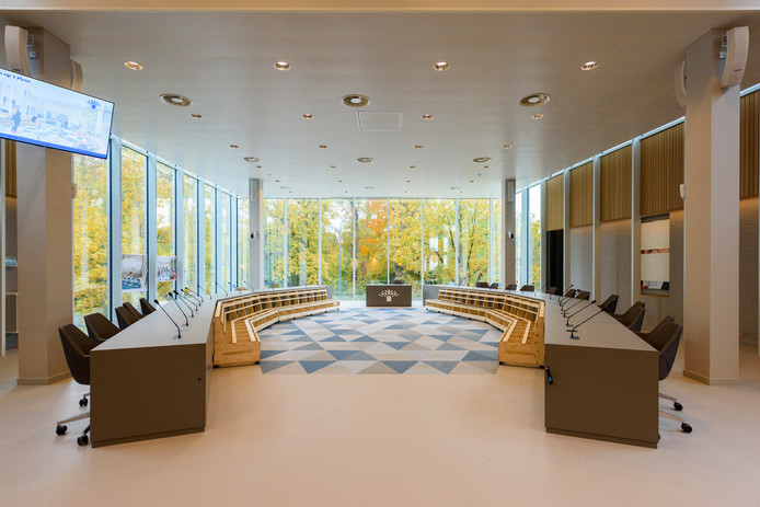 GELDROP - Rondleiding Nieuwe Gemeentehuis Geldrop