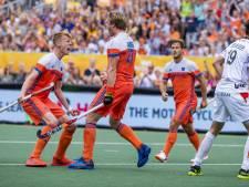 Oranje hockeyers zijn België opnieuw de baas