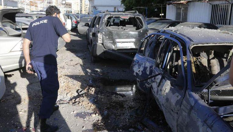 Het resultaat van de bomaanslagen. Beeld REUTERS