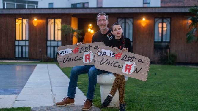 """Vader en dochter zijn twee van de 500.000 Belgen die lijden aan zeldzame ziekte: """"Dokter zei me dat ik blind ging worden. Ik was zeker dat hij zich vergiste"""""""