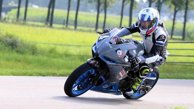 Christophe Carlier kroont zich tot Belgisch kampioen motorrace bij BTT StockTwin