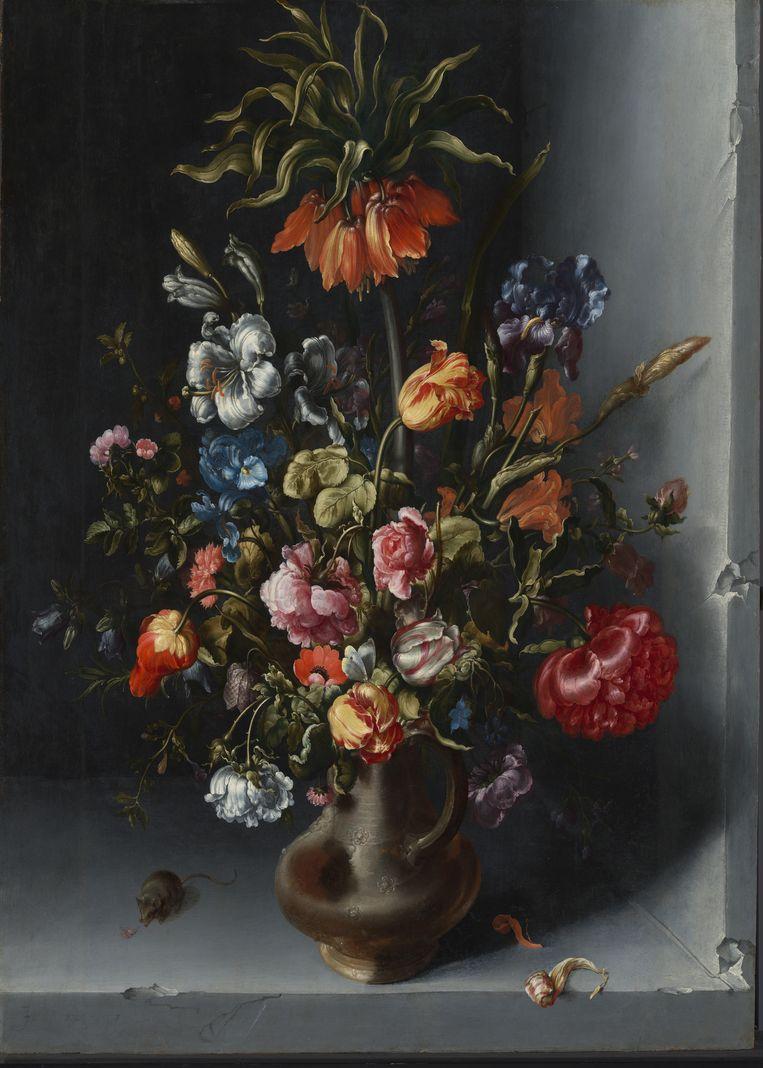 Bloemstilleven van Jacob Vosmaer Beeld Rijksmuseum