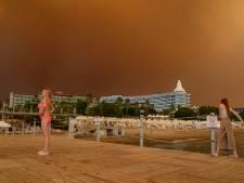 Ook Nederlanders geëvacueerd vanwege natuurbranden Turkije
