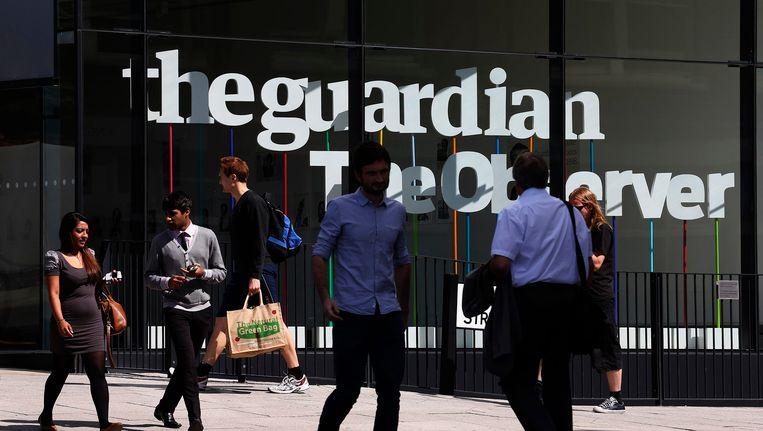 Het kantoor van The Guardian in Londen. Beeld REUTERS