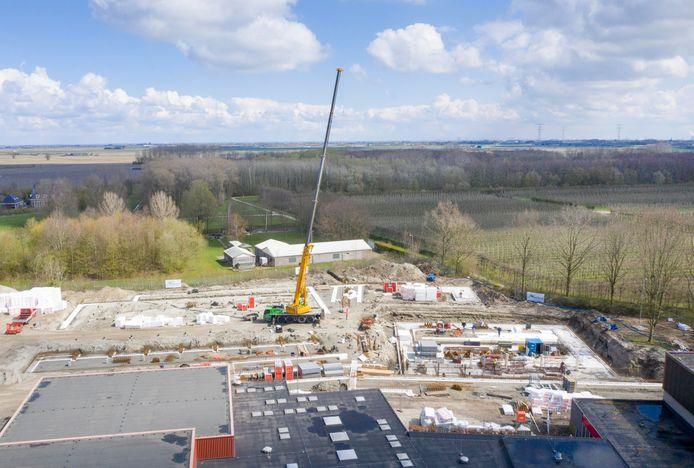 Het nieuwe sportcomplex in Kapelle behoudt zijn oorspronkelijk gekozen naam: De Bloesem.