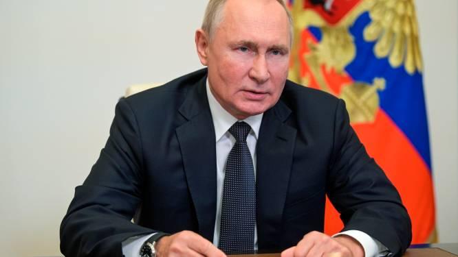 Poetin brengt elektronische stem uit wegens corona-isolatie
