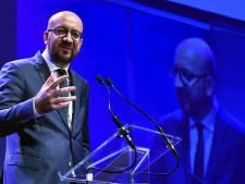 Charles Michel en faveur d'une Europe à deux vitesses