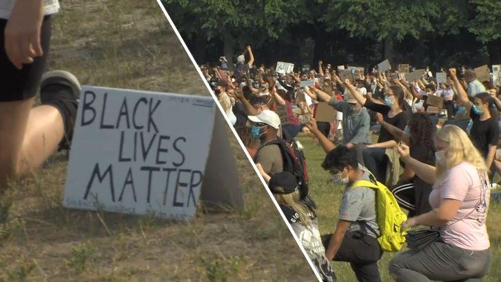 Dit was de Black Lives Matter-demonstratie op het Malieveld in Den Haag