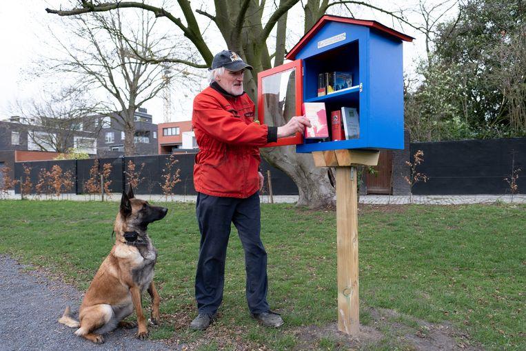 Ook in de Dorpsharttuin vind je voortaan een boekenruilkastje.