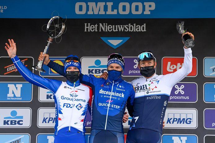 Troisième du Nieuwsblad derrière Davide Ballerini et Jake Stewart, Sepp Vanmarcke a un peu sauvé le bilan belge.