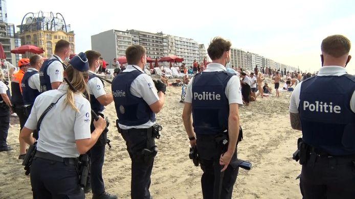 La plage de Blankenberge le 8 août dernier.