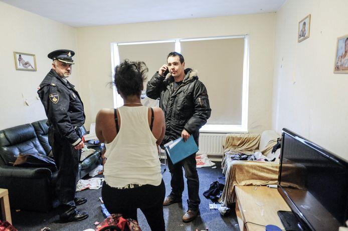 De flat van een moeder met kind in Rijswijk wordt ontruimd