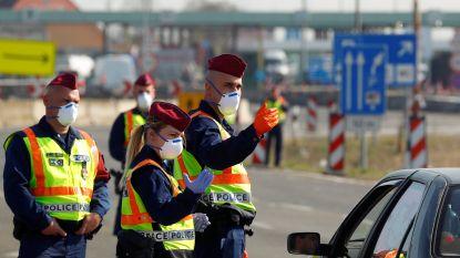 Al twaalf Europese landen voerden grenscontroles in
