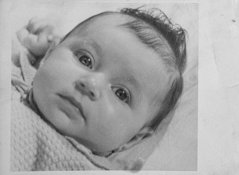 De drie maanden oude Rosette Groen.  Beeld Privéarchief