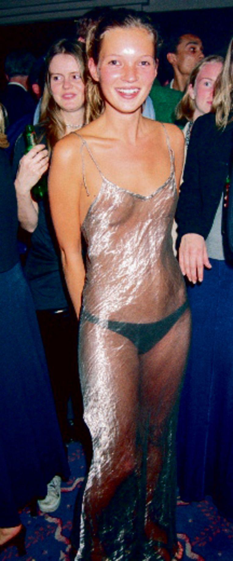Kate Moss: iets te doorzichtig. Beeld rv