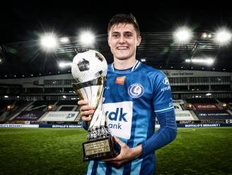 """Alessio Castro-Montes is Speler van het Seizoen bij AA Gent: """"Nu Europees halen en van volgend seizoen een topjaar maken"""""""