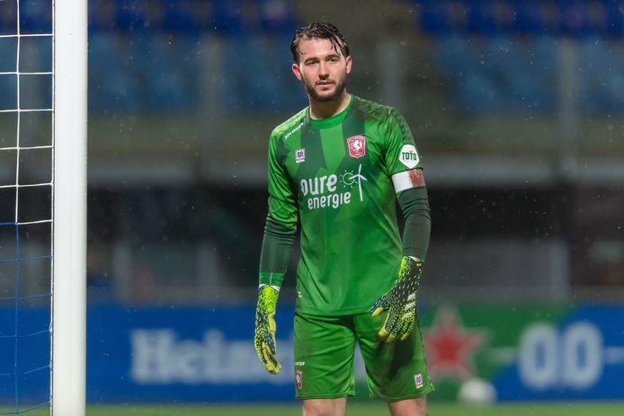 Joël Drommel afgelopen weekend bij PEC Zwolle - FC Twente.