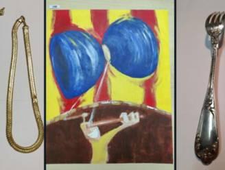 Politie zoekt eigenaars van honderden gestolen juwelen, schilderijen en andere waardevolle spullen