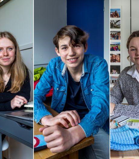 Puber zijn in een pandemie, Dante (16), Erinn (17) en Ditte (18) zijn er klaar mee: 'Ik wil gewoon een kutetter zijn'
