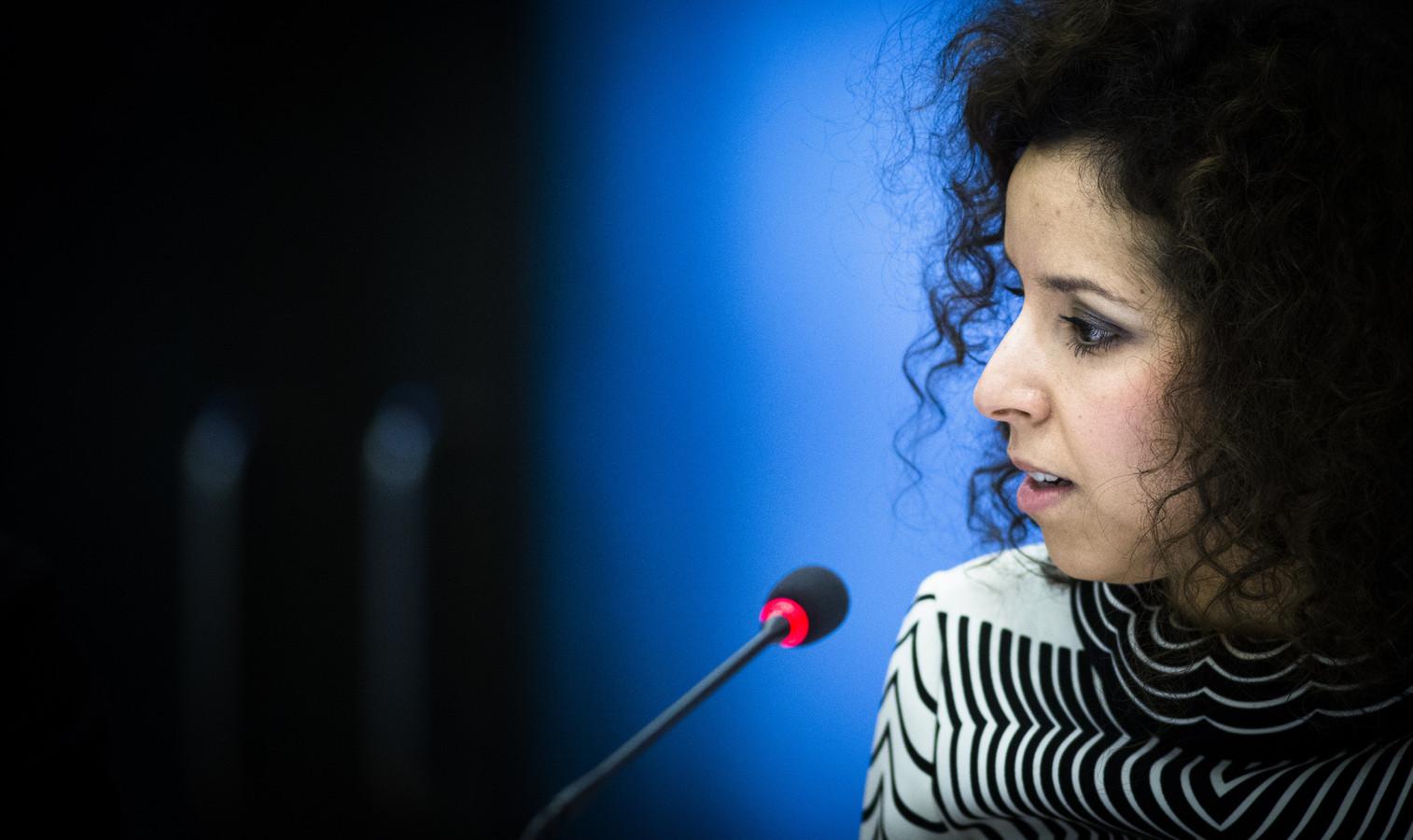 Wassila Hachchi namens D66 in de Tweede Kamer.